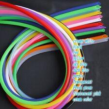 Φ2*4mm Food Grade Silicone Tubing Multi-color optional For Beverage tube Conduit