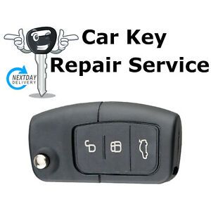 Repair Service for Ford Mondeo Galaxy B C S Max Ecosport 3 Button Remote Key Fob