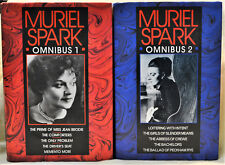 Muriel Spark Omnibus 1 & 2 Set HB/DJ Scottish British Collection Anthology Lot
