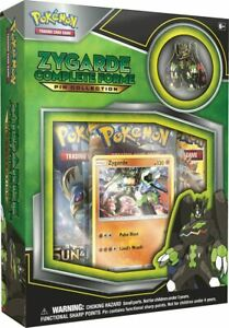 Pokemon TCG ZYGARDE Complete Forme Collection - 3 Booster Packs Pin & Foil Promo