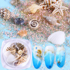 Natural Mini Conch Shells Starfish Sea Beach Ornaments 3D Nail Art Decoration
