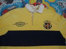 Polo Ralph Lauren R.L. Bleecker Cup Golf Club Rugby custom fit Shirt Men's XL