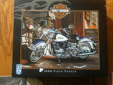 Harley Davidson Motorcycle 1000 piece Jigsaw Puzzle Complete electra glide fx