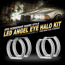 BMW LED Angel Eye DTM Style LED Kit White 7000K E36 E38 E39 / E46 Projector Only