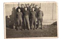 photo soldats prisonniers a elmshorn 1944 (cl14)