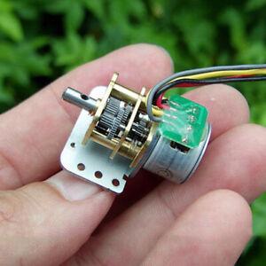 Micro 15MM Precision 2-Phase 4-Wire Mini Full Metal Geaxbox Gear Stepper Motor