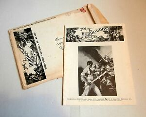 BURROUGHS BULLETIN #19 - 1970 Edgar Rice Burroughs fanzine,  w/mailing envelope