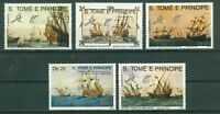 Sao Tome und Principe 1129 - 1133 , ** , Motiv : Schiffe
