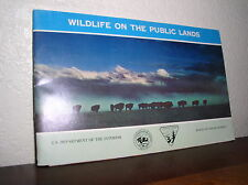 U.S. Department of the Interior: Wildlife on the Public Lands (1964 OL-730-156)