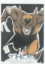 Thor The Dark World Upper Deck 2013 Sketch Card 1 of 1 Artist Chris Foreman