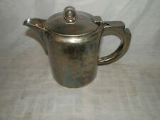 Vintage, England, Windsor Hall, Palm Bay, Elkington Silverplate, 3 Cup, Teapot