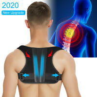 Adjustable Back Posture Corrector Shoulder Support Correct Brace For Men Women