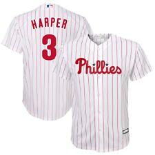 Juventud Philadelphia Phillies Bryce Harper Majestic Blanco Hogar Camiseta de jugadores
