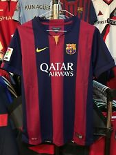 Barcelona home football shirt size 13-15 years Nike 2014-2015