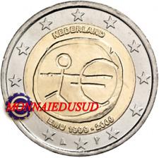 2 Euro Commémorative Pays-Bas 2009 - 10 Ans de l'Euro EMU