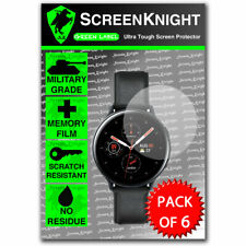 Screen Protector - For Samsung Galaxy Active Watch 2 40mm- ScreenKnight - 6 pack
