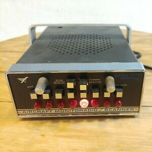 Vintage AIRCRAFT Regency MonitoRadio Scanner HARD TO FIND! Airplane/Helicopter