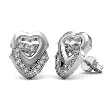 SWEET HEARTS STUDS EARRINGS FT. CRYSTALS FROM SWAROVSKI KCE847WG