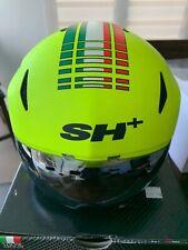 SH+ (ShPlus) Eolus TT Time Trial Track Cycling Helmet - Yellow Fluo S/L