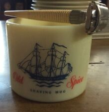 Vintage Old Spice shaving mug by Shulton, Inc.