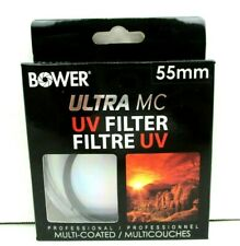 55mm UV Filter Professional Ultra Multi Coated Bower brand
