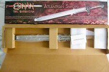 """CONAN THE BARBARIAN"" ATLANTEAN SWORD MUSEUM PROP REPLICA BRAND NEW IN BOX"