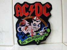 Aufnäher Aufbügler Patch AC-DC Rückenaufnäher 18 x 15 cm