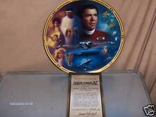 Hamilton Collection Star Trek Iv Collector Plate 1994