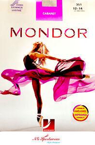 Mondor Cabaret Footed Shimmer Dance Tights