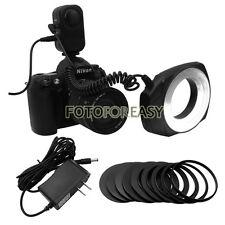 Macro Close-Up O Ring 48-LED Continuous Flash Light for Canon Nikon Sigma Lens