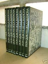 DON QUIJOTE DE LA MANCHA - Serie completa en 8 vols.