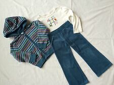 Gymboree Girls Size 4 Velour Track Suit Shirt LOT Pants Hoodie EUC Lots of Dots