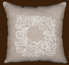 Candlewicking Embroidery Kit ~ Design Works Romance Patterned Pillow #DW3011