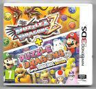 PUZZLE & DRAGONS Z + PUZZLE & DRAGONS MARIO Neuf sous blister Jeu Nintendo 3DS
