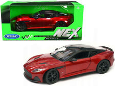 "Welly Aston Martin Dbs Superleggera Red with Black Top ""Nex Models"" 1/24 24095"