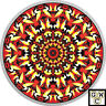 2017 Loon-Canadiana Kaleidoscope' Color Prf $20 Silver 1oz .9999Fine(18001)(NT)