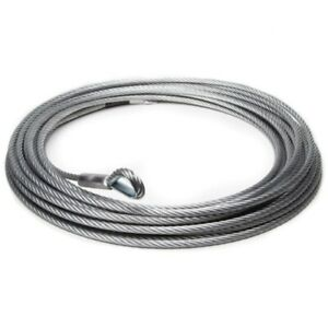 Replacement 10.2mm x 26m Galvanised Steel Wire Winch Rope Cable