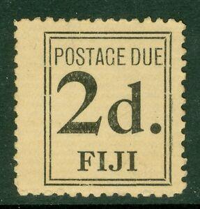 SG D2 Fiji 1917 2d postage due. A fine unused example CAT £325 Scarce