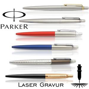 Kugelschreiber Parker Jotter mit Gravur & Original Etui verschiedene Farben TOP