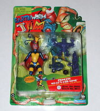 1994 Princess What's Her Name Bug Launcher Earthworm Jim Playmates On Card R4230