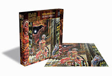 IRON MAIDEN - SOMEWHERE IN TIME Album Cover - Rock Saws Puzzle 500 Pcs.