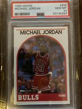 1989 Hoops Michael Jordan #200 PSA 10 Freshly Graded, Beautiful '10'!