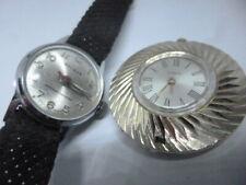 Lote 2 relogios, timex pendant , holmar lady, 257