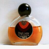 Vintage Lancome MAGIE NOIRE EDT 0.47 oz / 14ml Eau De Toilette - Approx 65% Full