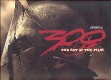 300 HC FRANK MILLER ~ ART OF MAKING THE MOVIE FILM