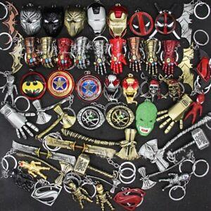 Marvel Thor/IronMan/Hulk/BlackPanther/Batman/CaptainAmerica Keyring/Keychain