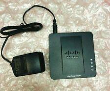 CISCO SPA112 2 PORT PHONE ADAPTER  WIYH POWER SUPPLY
