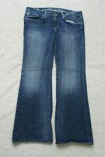"Big Star Blue Jeans Pants Solid Women's Womans Cotton Spandex 29"" x 29"" Sweet 20"