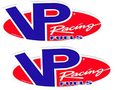 VP Fuels Racing Decals Stickers Vinyl Body Blue Car Truck Window Auto Set of 2