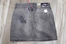 mini jupe en jeans gris KAPORAL james taille 14 ans ** NEUVE/ÉTIQUETTE **